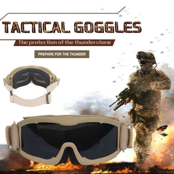 Tactical Military Goggles
