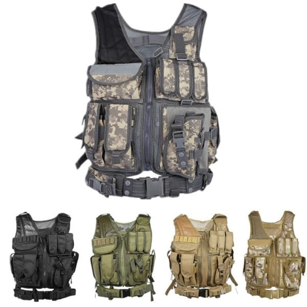 Military camouflage - MOLLE